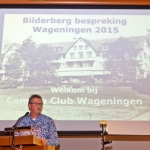 Bilderberg 2015, bespreker Jan Nabuurs [Foto: Jan Molenveld]
